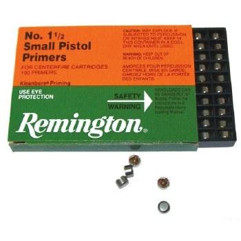 #1 1/2 Small Pistol - Remington Primers