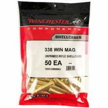 .338 Winchester Mag - Winchester Brass