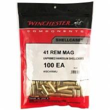 .41 Renington Magnum - Winchester Brass