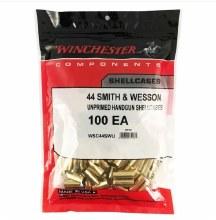 .44 S&W - Winchester Brass