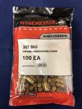 .357 Sig - Winchester Brass