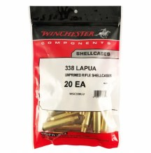 .338 Lap Mag. - Winchester Brass