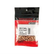 .22  Caliber 55gr. FMJBT Winchester Bullets