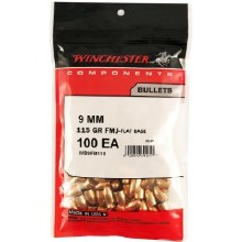 9mm / 115gr FMJ-FB - Winchester Bullets