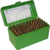 Magnum Rifle Ammo Case - MTM 50rd