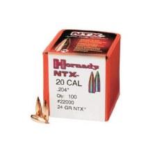 .20 Caliber 24gr NTX Hornady # 22000