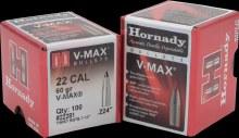 .22 Caliber 60gr VM Hornady #22281 100/bx