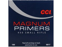 #450 Small Rifle Magnum CCI Primers