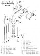 Check Rod Assembly .44/.45 - Dillon