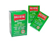 Ballistol wipes 10 pack box