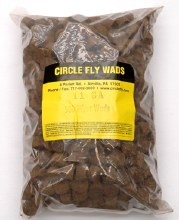 11 Gage .500 Thick Fibre Cushion - Circle Fly Wad