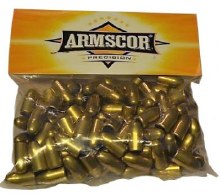 .38 Caliber  158 grain  Armscor 100ct