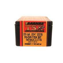 .22 Caliber   70 Grain TSX Barnes #30193