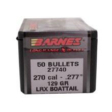 .270 Caliber   129 Grain LRX Barnes #30262