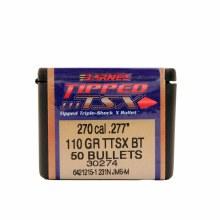 .270 Caliber   110 Grain TTSX Barnes #30274