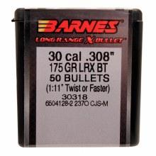 .30 Caliber  175 Grain LRX Barnes #303 8