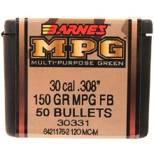 .30 Caliber  150 Grain MPG Barnes #3033
