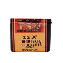 .30 Caliber  110 Grain TSX Barnes #3034