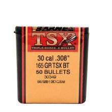 .30 Caliber  165 Grain TSX Barnes #30349