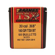 .30 Caliber  180 Grain TSX Barnes #30353