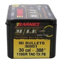 .30 Caliber  110 Grain M/LE Barnes #30358