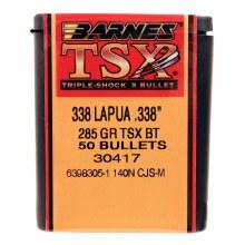 .338 Caliber  285 Grain TSX Barnes #30417
