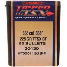 .338 Caliber  225 Grain TTSX Barnes #30430