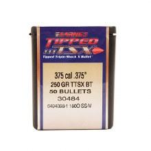 .375 Caliber  250 Grain TTSX Barnes #30484