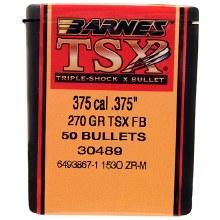.375 Caliber  270  Grain TSX  Barnes #30489