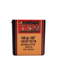 .458 Caliber  450 Grain TSX Barnes #306 9