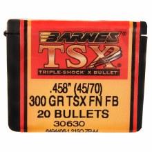 .45-70 Caliber  300 Grain FN Barnes #30630
