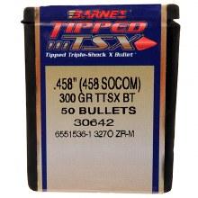 .458 Caliber  300 Grain TTSX Barnes #30642