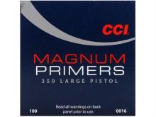 #350 Large Pistol Magnum CCI Primer