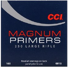 #250 Large Rifle Magnum CCI Primers