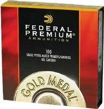 Federal Primers #100M Small Pistol Match 100ct