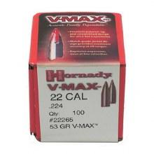 .22 Caliber 53gr VM Hornady #22265 100/bx