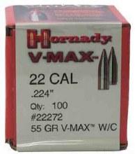 .22 Caliber 55gr VM Hornady #22272