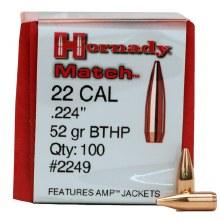 .22 Caliber 52gr Hornady #22492