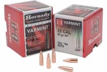 .22 Caliber 60gr HP Hornady #2275 100/bx