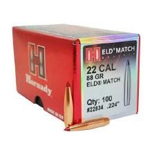 .22 Caliber 88gr ELDM Hornady #22834 100/bx
