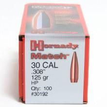 .30 Caliber 125gr HP Hornady #30192 100/bx