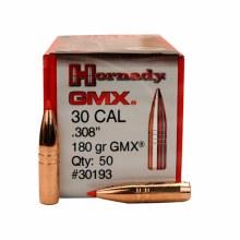 .30 Caliber   180gr GMX Hornady #30193