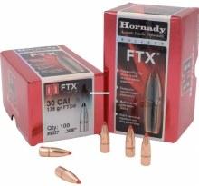 .30 Caliber 135gr FTX Hornady #3027 100/bx