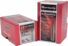 .30 Caliber 155gr ELDM Hornady #30313 100/bx