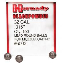 Hornady #6003 .315 Rd. Ball