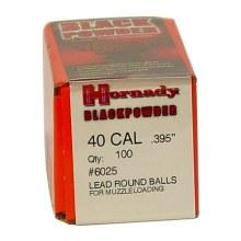 Hornady #6025 .395 Rd. Ball 100/bx