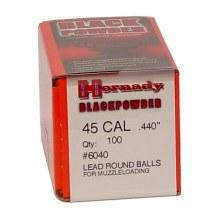 Hornady #6040 .440 Rd. Ball 100/bx