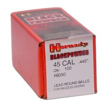 Hornady #6050 .445 Rd. Ball 100/bx