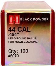 Hornady #6070 .454 Rd. Ball 100/bx