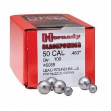 Hornady #6088 .480 Rd. Ball 100/bx